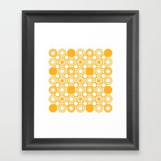 Circle A Framed Art Print
