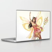 fairy Laptop & iPad Skins featuring Fairy by clayscence