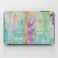 macaroon iPad Cases featuring Mint Macaroon by Limezinnias Design