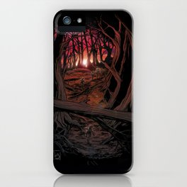 Children In the Wood iPhone Case