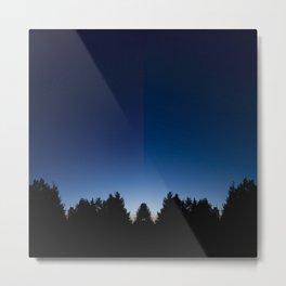 Spiegel im spiegel VIII Metal Print
