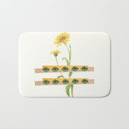 The Flower Bath Mat