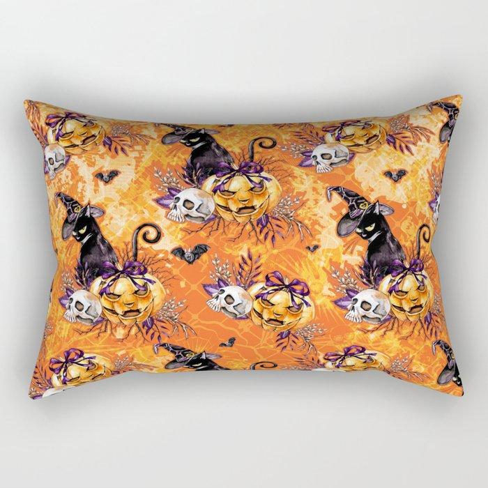 Halloween Witch #5 Rectangular Pillow