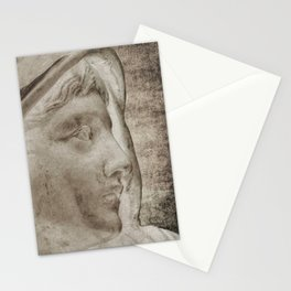 Lady Angel Celestial Woman Spiritual Art A145 Stationery Cards