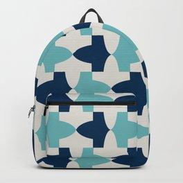 Alhambra Motif Blue Palette Backpack