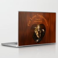 fili Laptop & iPad Skins featuring Fili Love Supporter by wolfanita