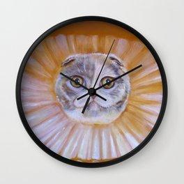 Chauncey Von Whiskerman Wall Clock