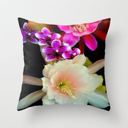 Pinkish, Pinker, And Far Out Pink Throw Pillow