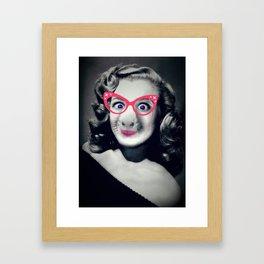 Catty Miss Cavy. Framed Art Print