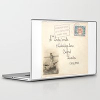 melissa smith Laptop & iPad Skins featuring Miss Smith by Vintage Memoirs
