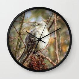 Mockingbird 2 Wall Clock