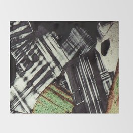 Feldspar and Biotite Throw Blanket