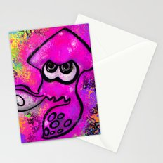 I've Got an Inkling - Pink on Black Stationery Cards