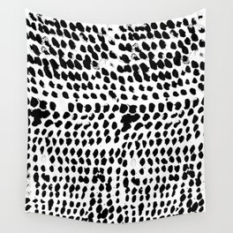 Flowing dots 02 Wall Tapestry