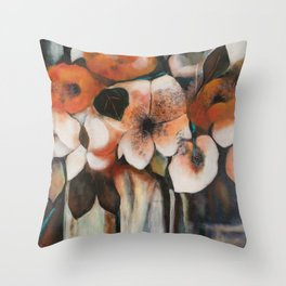 Painting Negative Space Throw Pillow