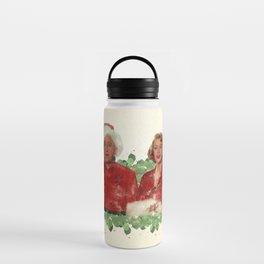 Bob & Betty (White Christmas) Water Bottle