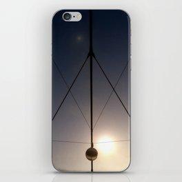 triangled lights iPhone Skin