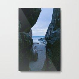 Hidden Cave Metal Print