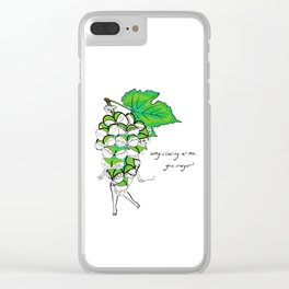 LADY G. Clear iPhone Case