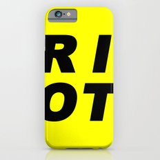 RIOT (BLACK AND YELLOW) Slim Case iPhone 6s