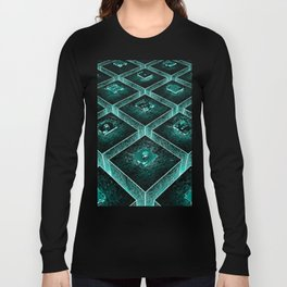 AzTECH Temple Long Sleeve T-shirt