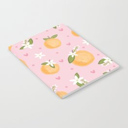 Orange Blossoms Notebook