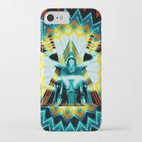 metropolis iPhone & iPod Cases featuring METROPOLIS by Tia Hank