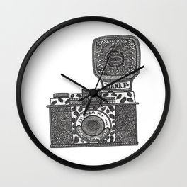 Diana F+ Wall Clock