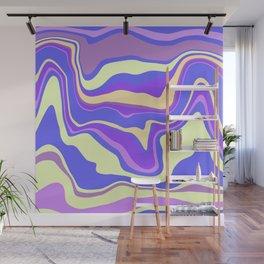 Rainbow Waves Wall Mural