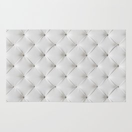 WHITE TUFTED Rug
