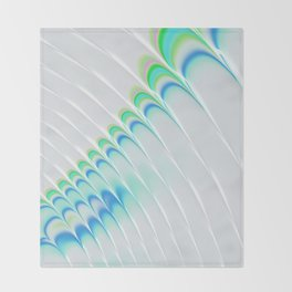 Rippled Arches Throw Blanket