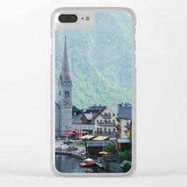 Hallstatt VI Clear iPhone Case