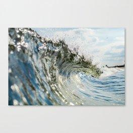 Jersey Glass Canvas Print