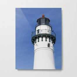 Wind Point Light Metal Print