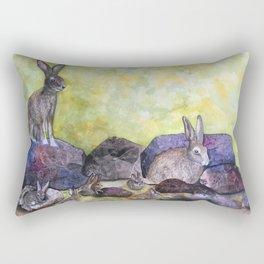 Jack's Family by Maureen Donovan Rectangular Pillow
