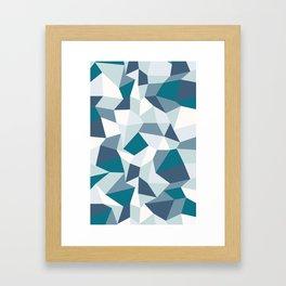 Angular Dimension Framed Art Print