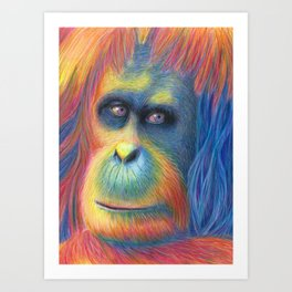 Gentle Giant Art Print