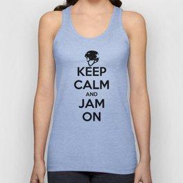 Keep Calm and Jam On Unisex Tank Top