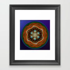 Trip to the centre Framed Art Print