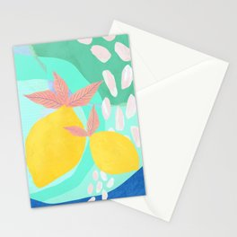 Pink Lemonade - Shapes and Layers no.32 Stationery Cards