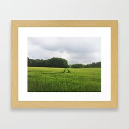 Just before Haven Framed Art Print