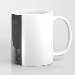 Gotham city in black and white Coffee Mug