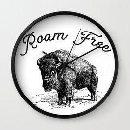 Roam Free Wall Clock