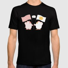 breakfast Black MEDIUM Mens Fitted Tee
