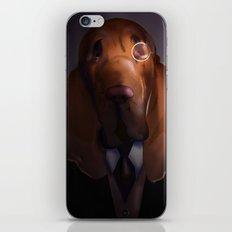 Good-Night, Sir Hound iPhone & iPod Skin