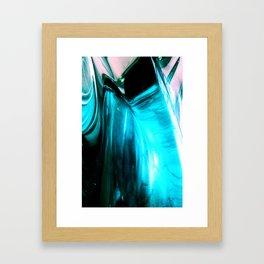 Glass Abstract Framed Art Print