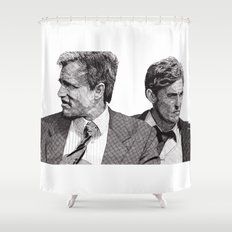 True Detective Shower Curtain