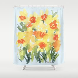 Daffodil Petites Shower Curtain