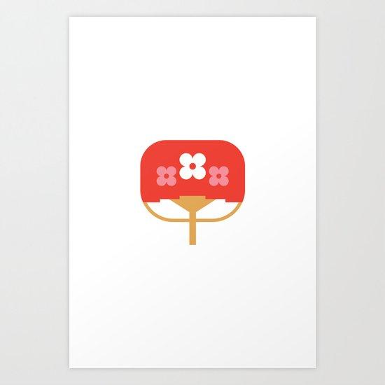 Japan Fan Art Print