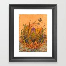 Ghost Shrine Framed Art Print
